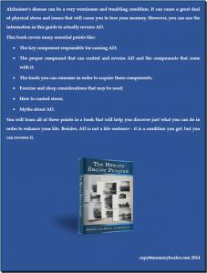 Memory Healer Program Review - Back Cover