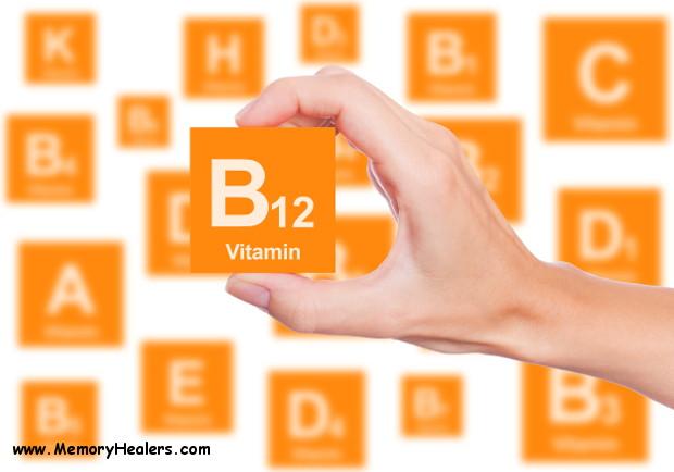 Memory Healers - Memory Loss Vitamins - B12